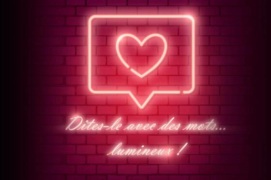 Des messages personnels sur le panneau lumineux