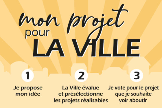 Mon projet pour la ville