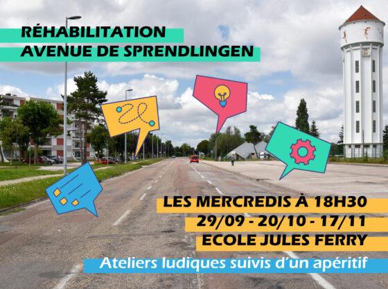 Avenue de Sprendlingen : construisons ensemble !